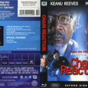 Chain Reaction (1996) R1 Blu-Ray Cover & Label