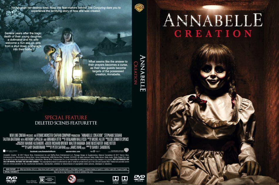 Annabelle Creation 2017 R1 Custom Dvd Cover Dvdcover Com