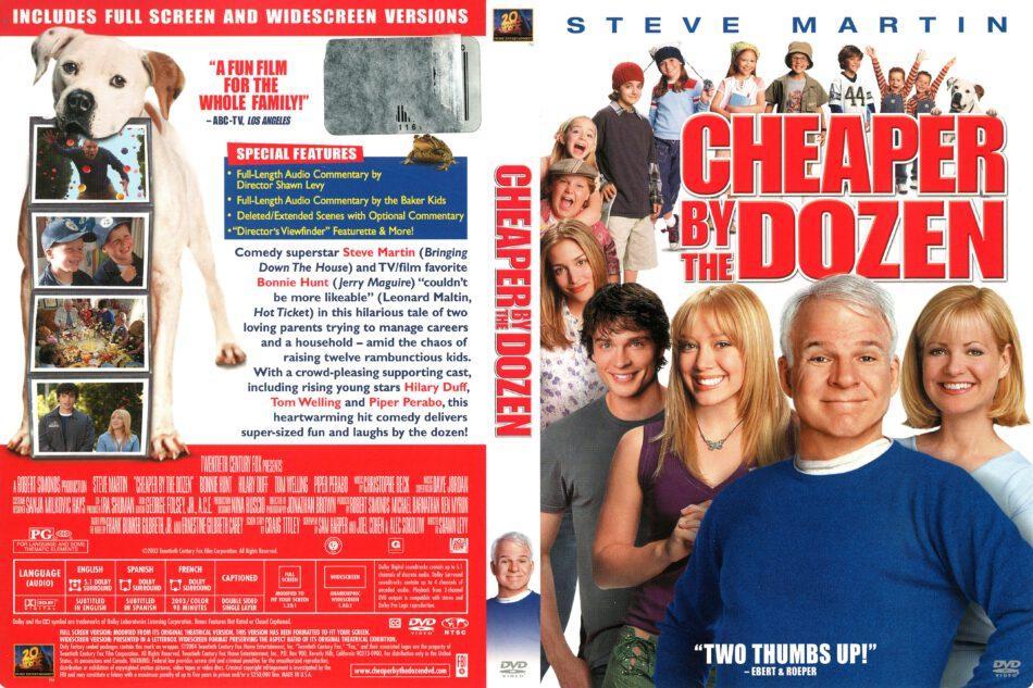 Cheaper By The Dozen 2003 R1 Dvd Cover Dvdcover Com