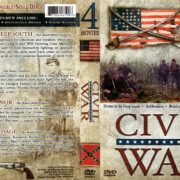 Civil War 4 Movie Collection (2002) R1 DVD Cover
