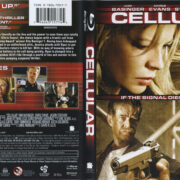 Cellular (2004) R1 Blu-Ray Cover & Label