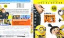 Despicable Me 3 (2017) R1 Blu-Ray Cover & Labels