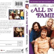 All in the Family Season 4 (1974) R1 DVD Cover