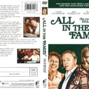 All in the Family Season 5 (1975) R1 DVD Cover