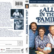 All in the Family Season 6 (1976) R1 DVD Cover