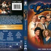 Cheers Season 3 (2008) R1 DVD Cover