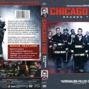 Chicago Fire Season 2 (2014) R1 DVD Covers