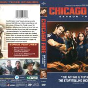 Chicago Fire Season 3 (2015) R1 DVD Covers