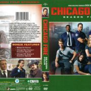 Chicago Fire Season 4 (2016) R1 DVD Covers