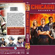 Chicago Fire Season 5 (2017) R1 DVD Cover