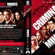 Criminal Minds Season 4 (2009) R1 DVD Covers