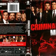 Criminal Minds Season 7 (2012) R1 DVD Cover
