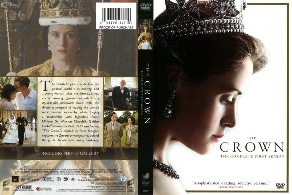 b8230c260dd318 The Crown Season 1 (2016) R1 DVD Cover - DVDcover.Com