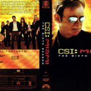 CSI: Miami Season 6 (2008) R1 DVD Covers