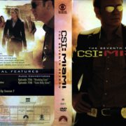 CSI: Miami Season 7 (2009) R1 DVD Covers