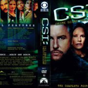 CSI: Crime Scene Investigation Season 4 (2004) R1 DVD Cover