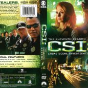 CSI: Crime Scene Investigation Season 11 (2011) R1 DVD Cover