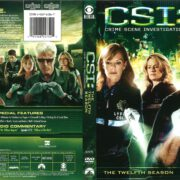 CSI: Crime Scene Investigation Season 12 (2012) R1 DVD Cover