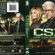 CSI: Crime Scene Investigation Season 13 (2013) R1 DVD Cover