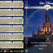 Walt Disney Animation Collection Diamond Edition – Set 1 (1937-1950) R1 Custom DVD Cover
