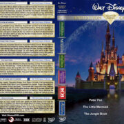 Walt Disney Animation Collection Diamond Edition – Set 2 (1953-1992) R1 Custom DVD Cover