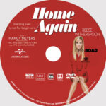 Home Again (2017) R0 Custom DVD Label