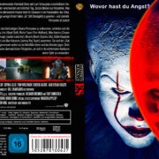 Stephen Kings Es (2017) R2 German Custom Blu-Ray Cover & Label