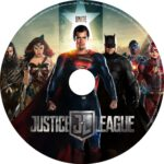 Justice League (2017) R0 CUSTOM DVD Labels