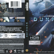 Dunkirk (2017) R1 4K UHD Cover & Labels