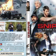 Sniper-Ultimate Kill (2017) R1 CUSTOM DVD Cover & Label