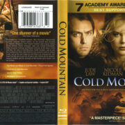Cold Mountain (2003) R1 Blu-Ray Cover & Label