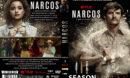 Narcos: season 3 (2016) R0 Custom DVD Cover