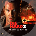 Die Hard 2 (1990) R1 Custom DVD label