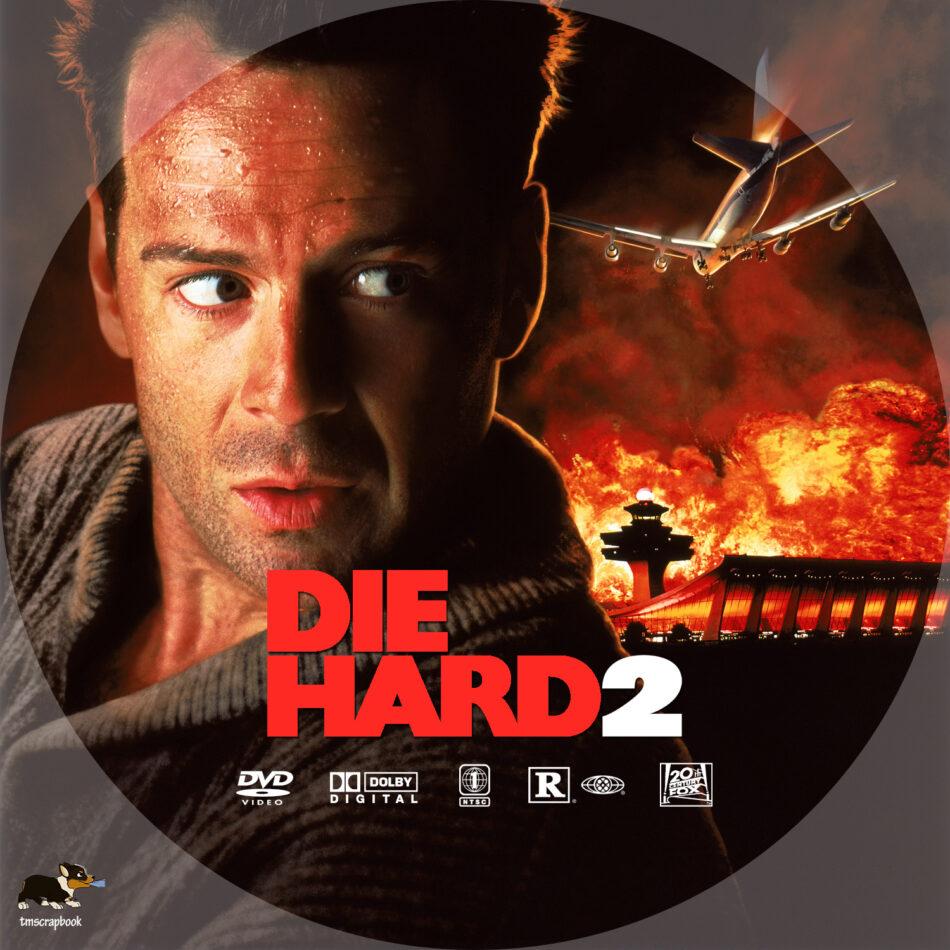 Die Hard 2 1990 R1 Custom Dvd Label Dvdcover Com