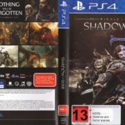 Middle-Earth: Shadow of War (2017) PAL PS4 Cover