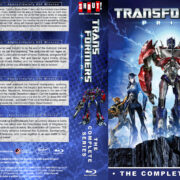Transformers Prime: The Complete Series (2010-2013) R1 Custom Blu-Ray Cover