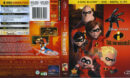 The Incredibles (2011) R1 Blu-Ray Cover & Labels