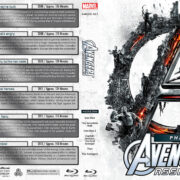 Avengers Assembled – Phase One (2008-2012) R1 Custom Blu-Ray Covers