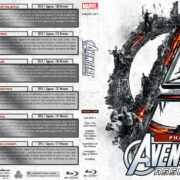 Avengers Assembled - Phase Two (2013-2015) R1 Custom Blu-Ray Covers