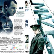 MAZE (2017) R2 CUSTOM DVD Cover & Label