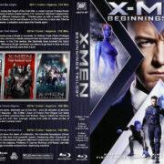 X-Men Beginnings Trilogy (2011-2016) R1 Custom Blu-Ray Cover