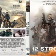 12 Strong (2017) R1 CUSTOM DVD Cover & Label