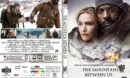 The Mountain Between Us (2017) R1 CUSTOM DVD Cover & Label
