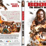 Boone: The Bounty Hunter (2017) R1 CUSTOM DVD Cover & Label