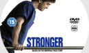 Stronger (2017) R0 Custom DVD Label