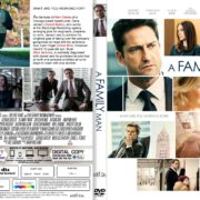 A Family Man (2017) R1 CUSTOM DVD Cover & Label