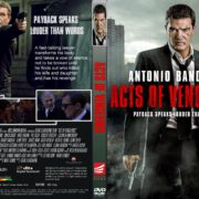Acts Of Vengeance (2017) R1 CUSTOM DVD Cover & Label