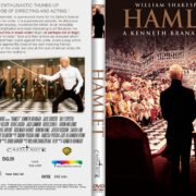 Hamlet (1996) R2 CUSTOM DVD Cover & Label