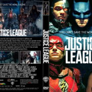 Justice League (2017) R1 CUSTOM DVD Cover & Label