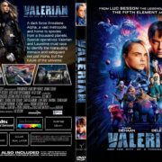 Valerian And The City Of A Thousand Planets (2017) R1 CUSTOM DVD Cover & Label